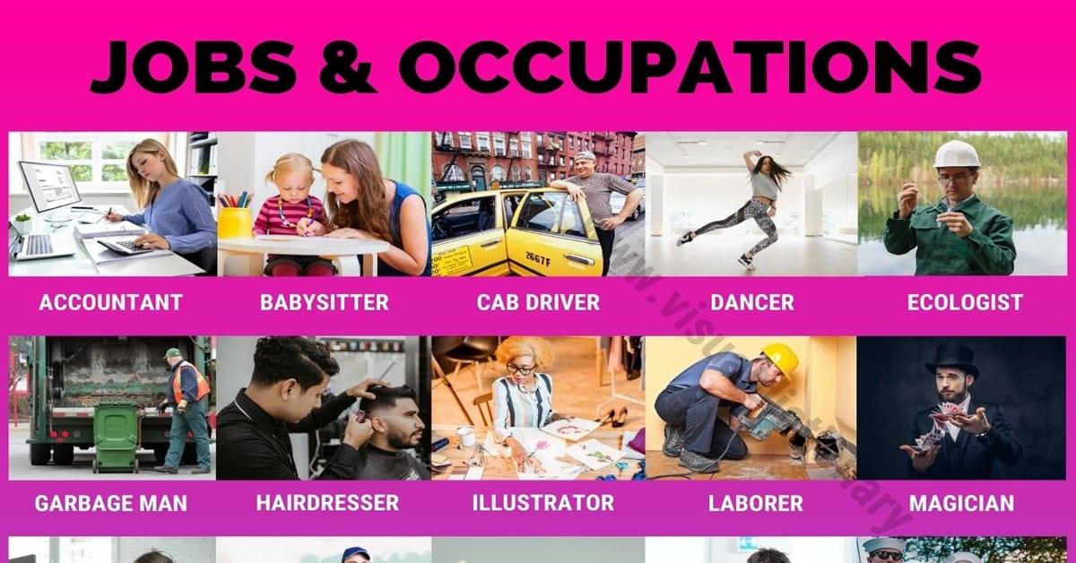 List of Jobs